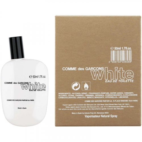 Comme des Garcons White EDT 50 ml spray