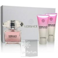 Versace Bright Crystal НАБОР (3) EDT5+B/L25+S/G25